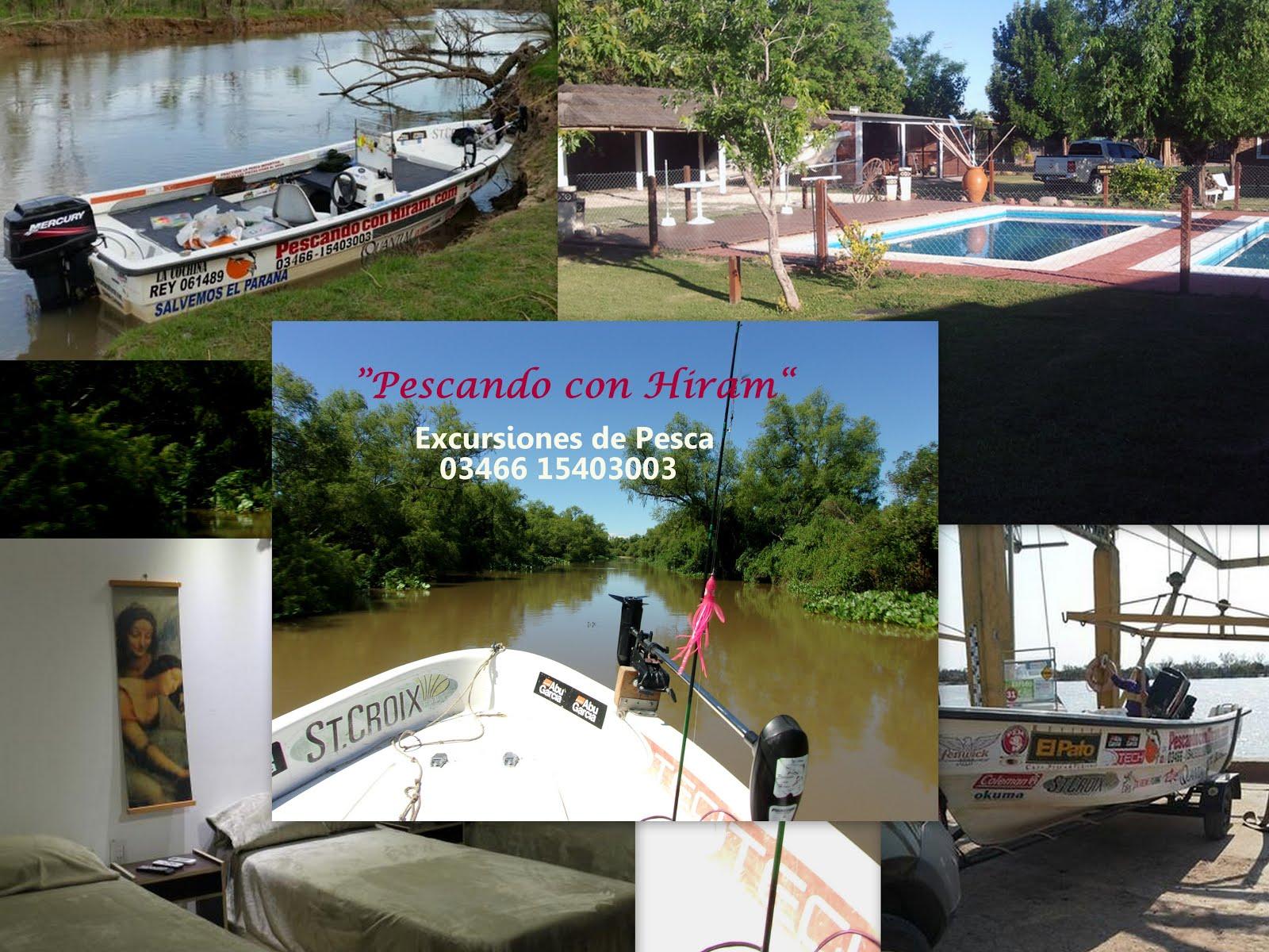 Promo 2 dias de pesca en Gaboto, c/alojamiento.