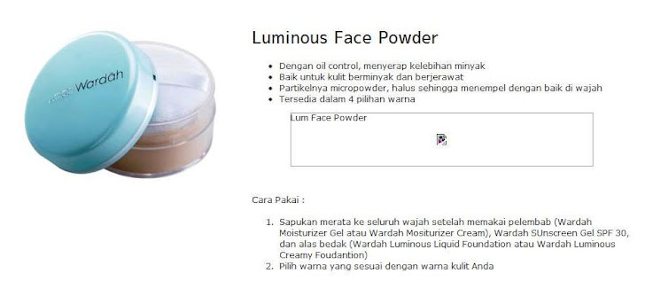 Luminous Face Powder - $12
