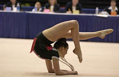 gymnastics ranks among