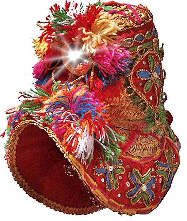 La gorra y el traje típico de Montehermoso