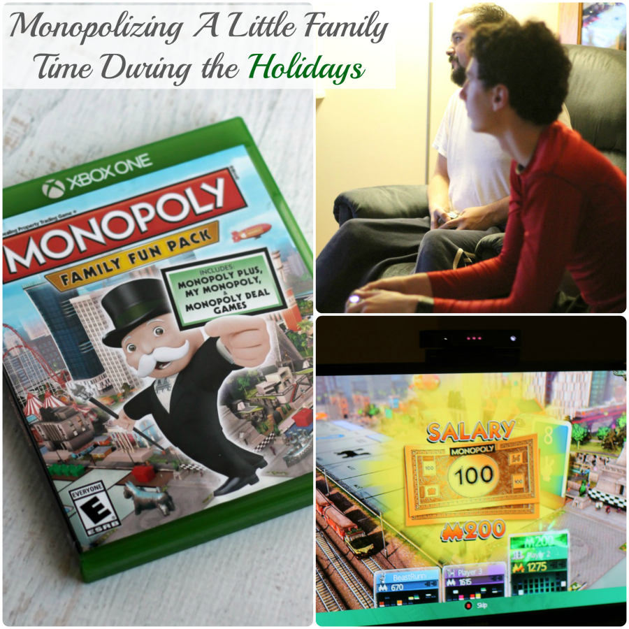 Take time for a family game night this busy holiday season with the help of Hasbro Ubisoft #ad