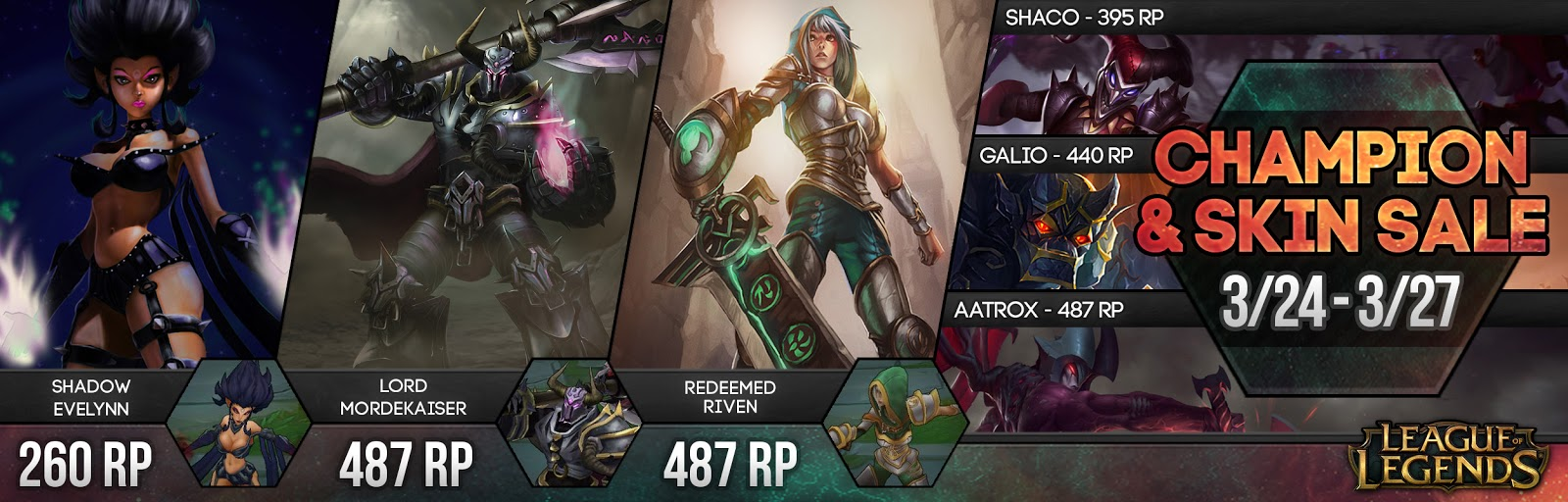 Surrender At 20 Champion And Skin Sale 324 327