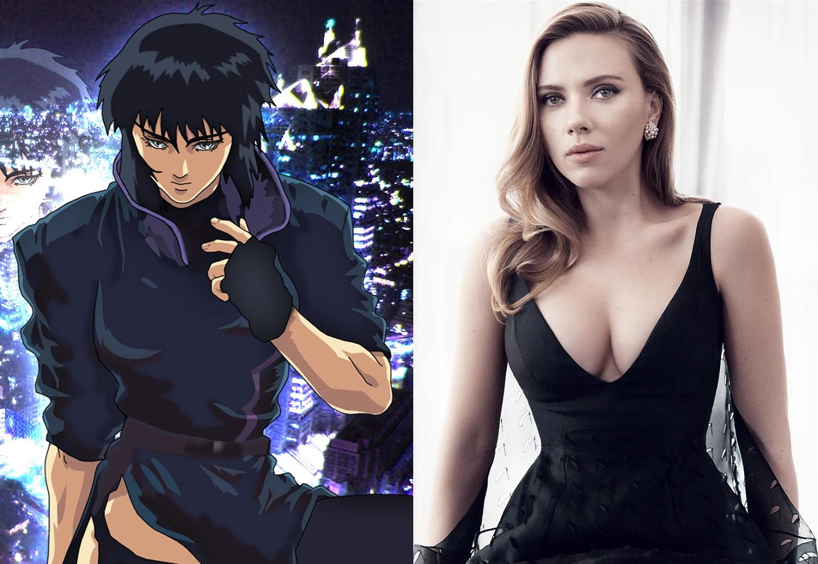 【速報】ハリウッド映画版 攻殻機動隊 草薙素子役にスカーレット・ジョハンソンが決定 ギャラ12億