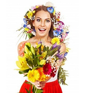 Flower Bouquet as Independent Gift