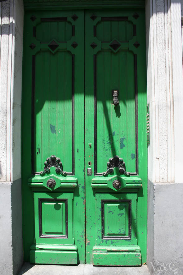 So glittering la puerta for Puerta casa antigua