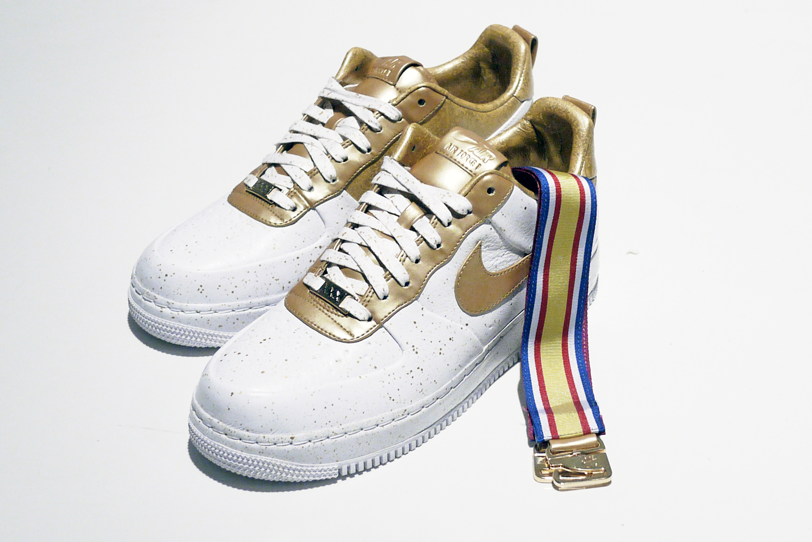SOLE WHAT?: Nike Air Force 1 USA Gold Medal