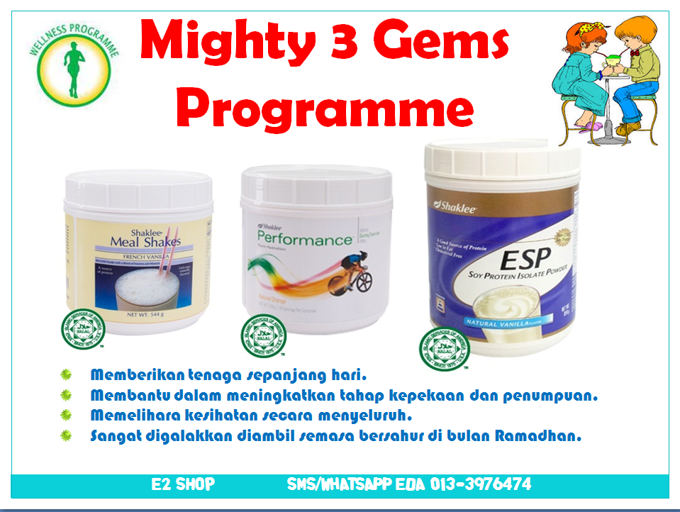 MIGHTY 3 GEMS PROGRAMME