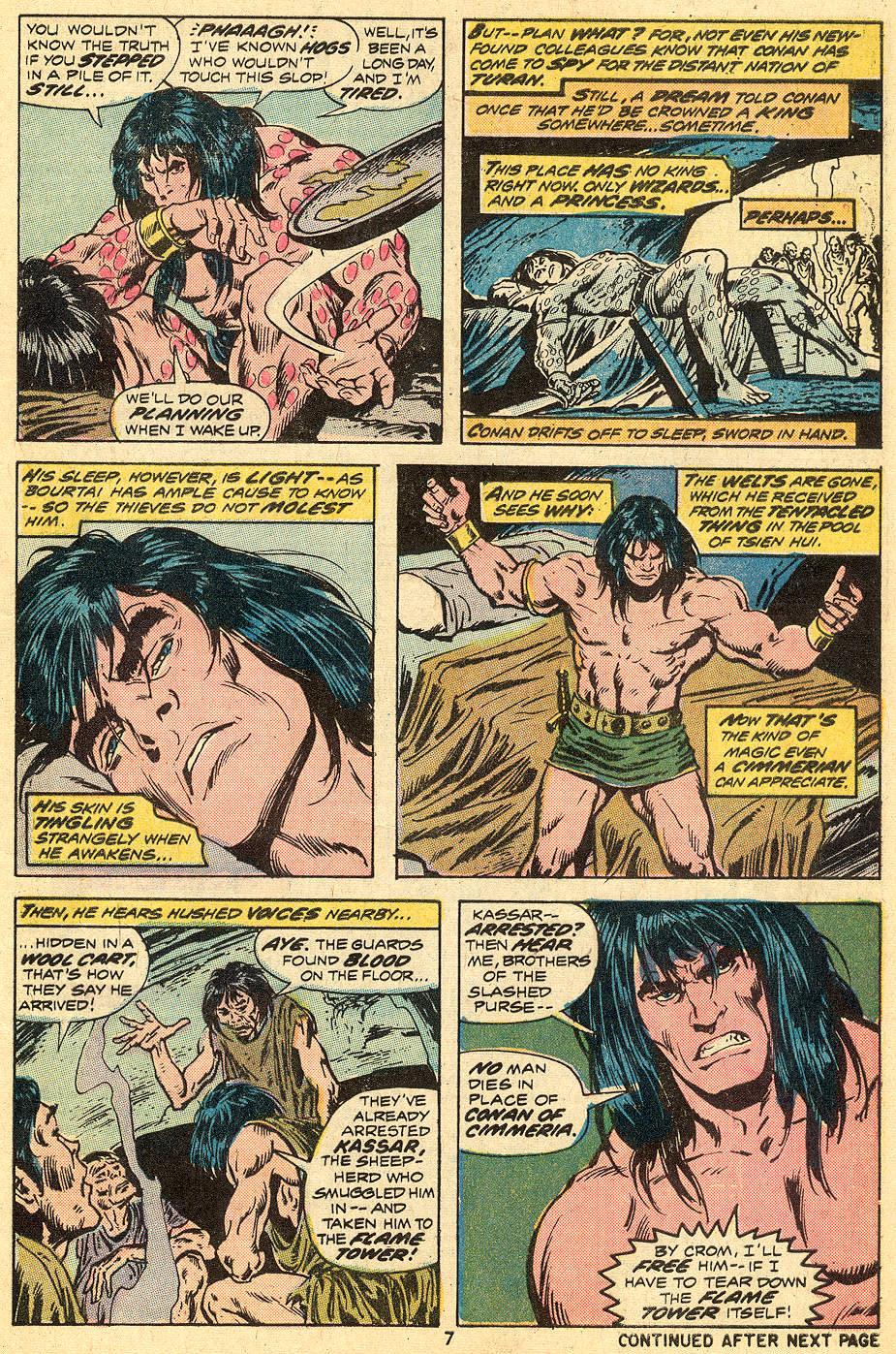 Conan the Barbarian (1970) Issue #33 #45 - English 6