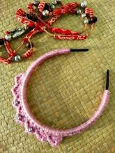 Tiara de princesa a crochet