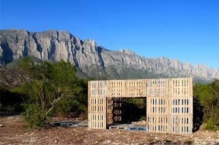Mirador Construido con Palets Reciclados