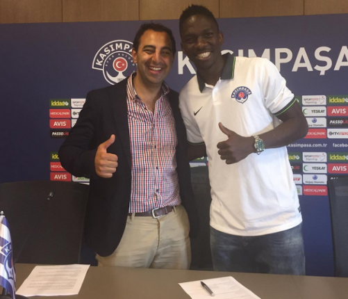 Footballer Omeruo signs new deal with Turkish club