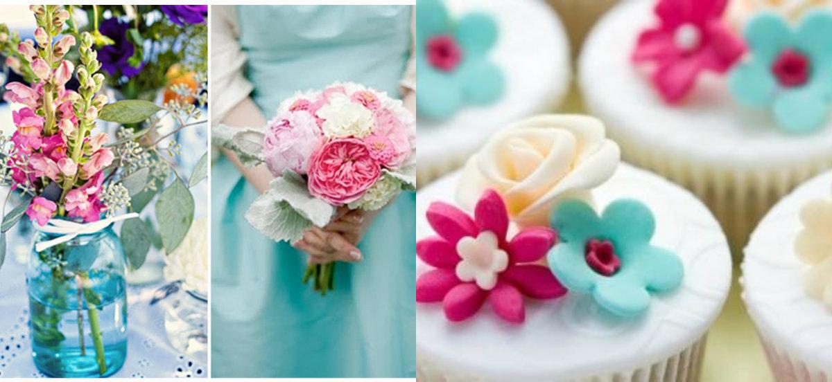 decoracao de casamento azul amarelo e rosa : decoracao de casamento azul amarelo e rosa: Sonho