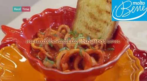 Calamari in guazzetto ricetta Parodi per Molto Bene