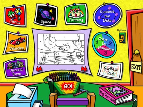 Media Pendidikan Alternatif: Crayola Magic 3D Coloring Book