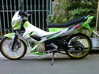 Modifikasi Satria FU  Air Brush