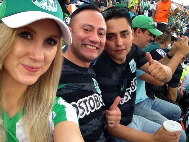 atletico nacional soccer match colombia medellin