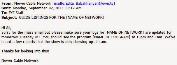 New network error issue