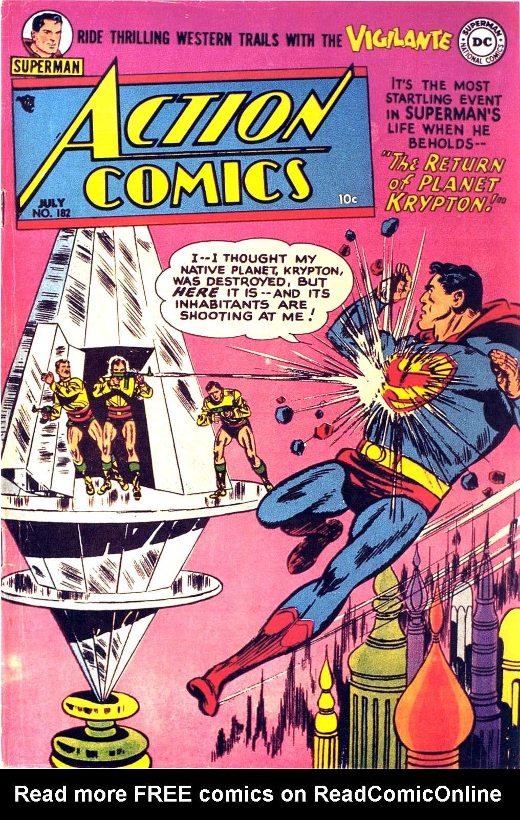 Action Comics (1938) 182 Page 1