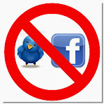 No twitter and facebook