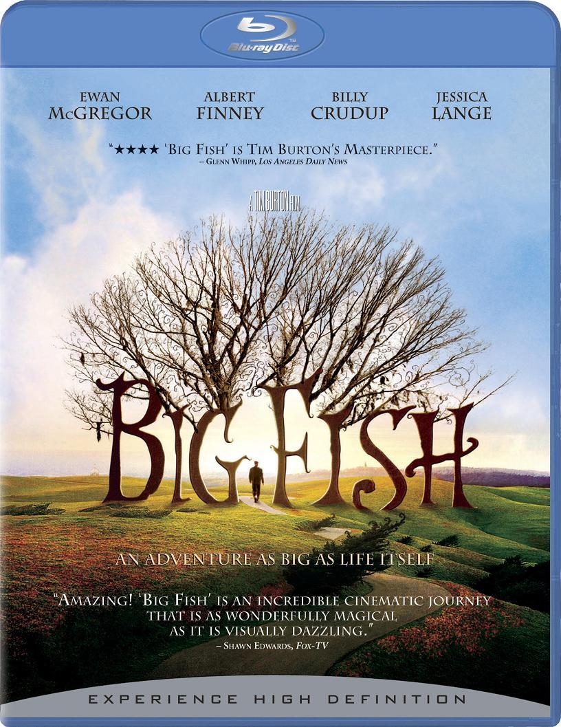 Big Fish Blu-ray Dvd Case Box