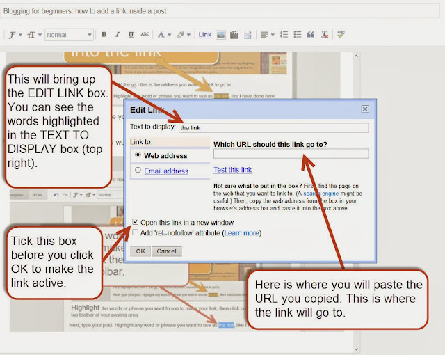 how to add link in word