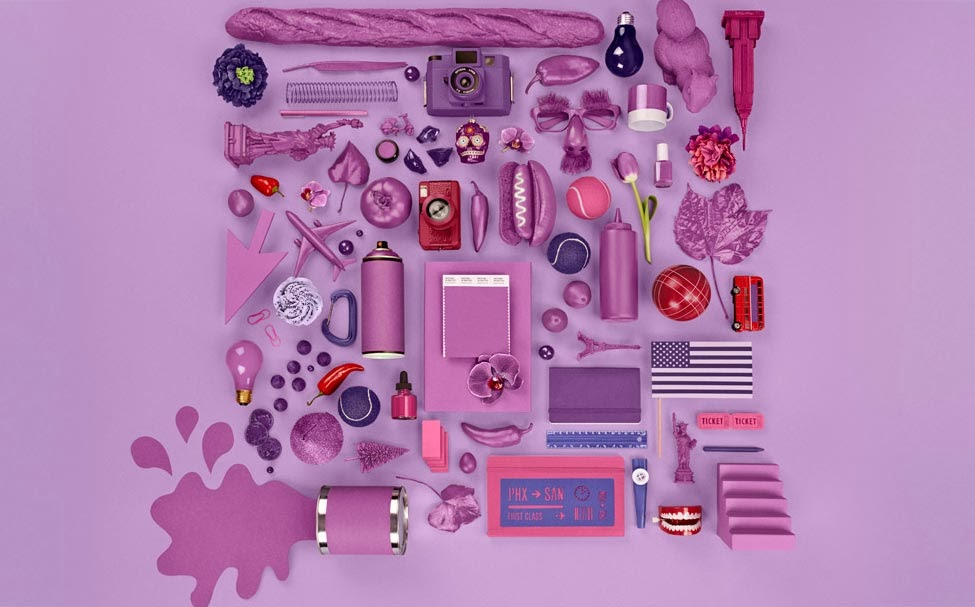 Color Trends 2014 Inspired by Radiant Orchid