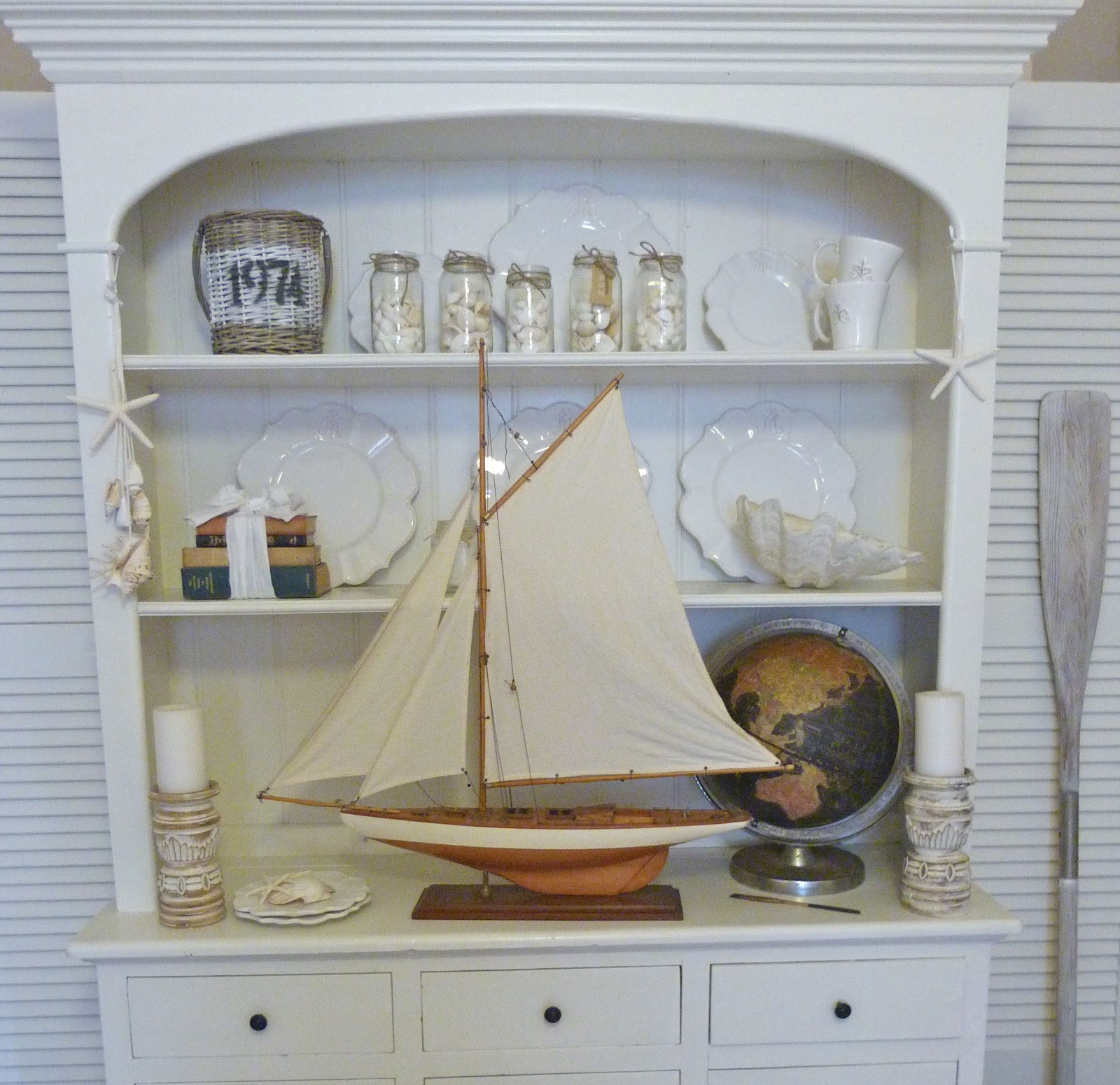 Vintage Nautical Bedding: Beachcomber: Vintage Nautical