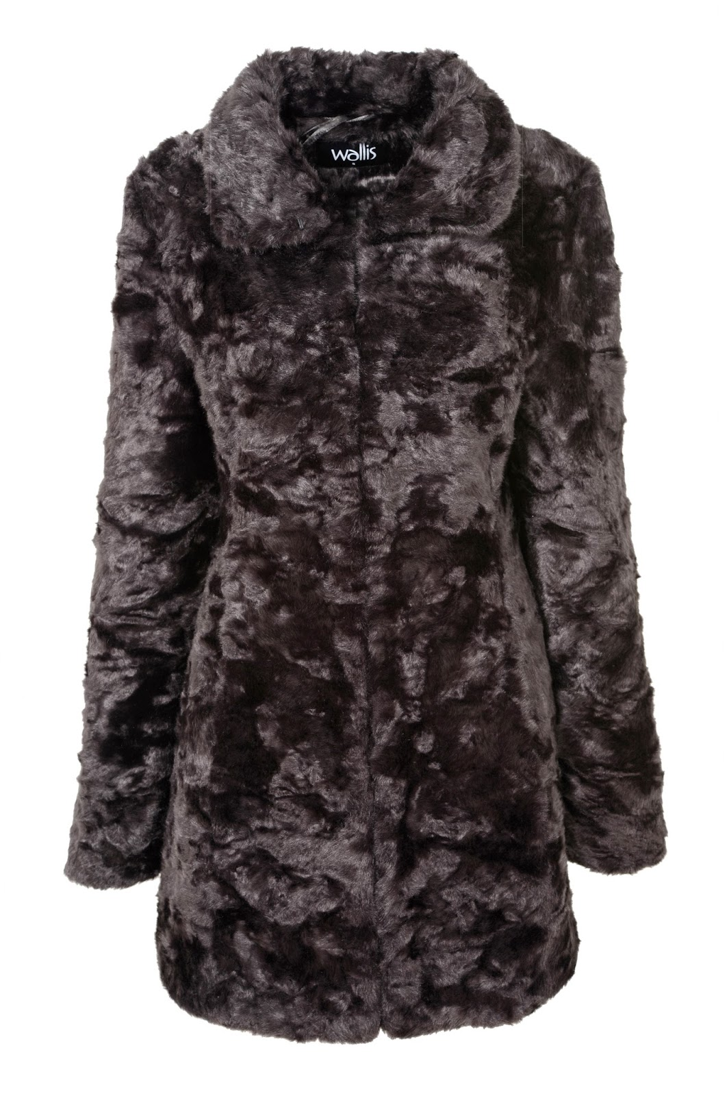 Wallis Faux Fur Coat