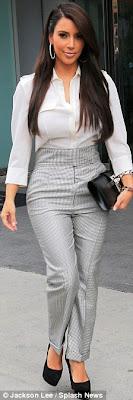 Kim Kardashian in Louboutin's