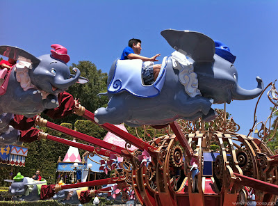 Dumbo Flying Elephant Disneyland Fantasyland