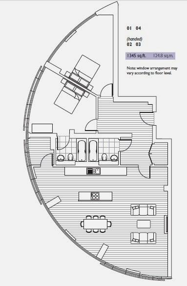 Canary Wharf 金絲雀碼頭樓盤圖