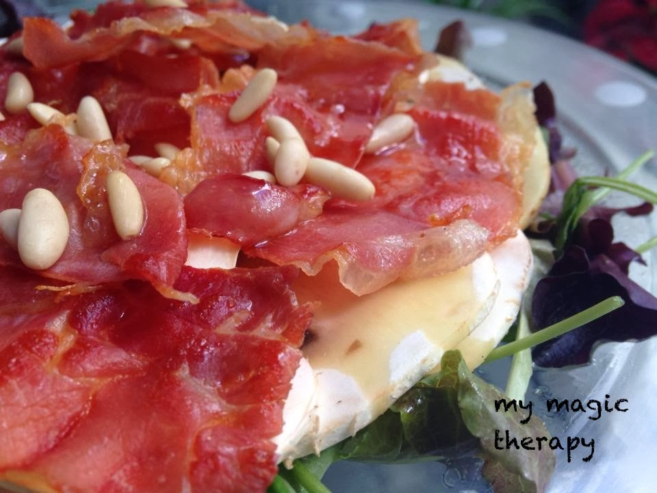 My magic therapy ensalada de champi ones y jam n serrano - Ensaladas con jamon serrano ...