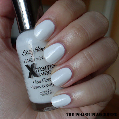 Sally Hansen White On