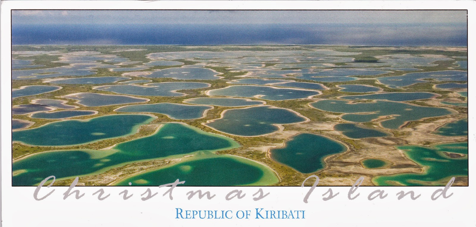 Wax On Daniel-san — Postcards: Kiribati