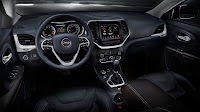 2014 Jeep® Cherokee interior