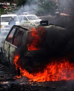 Violence in KwaMashu