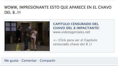Capitulo Censurado Chavo Facebook