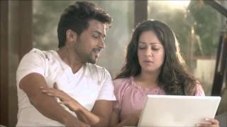 Surya and Jyothika in Latest Nescafe Sunrise | TVC with Surya Singing