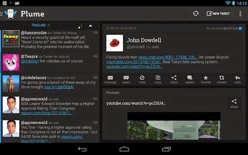 Plume Premium for Twitter free for android