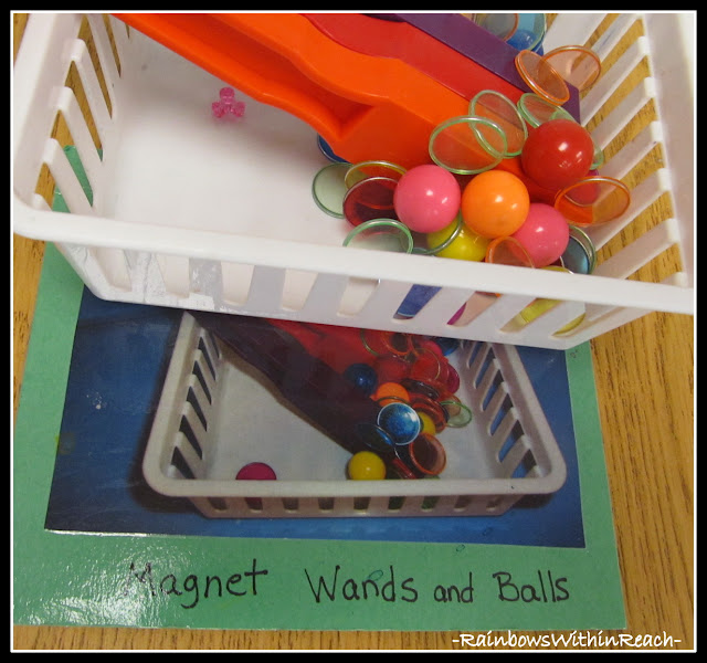 photo of: Science Tools for Preschool Classroom: Magnets for Exploration (RoundUP via RainbowsWIthinReach)