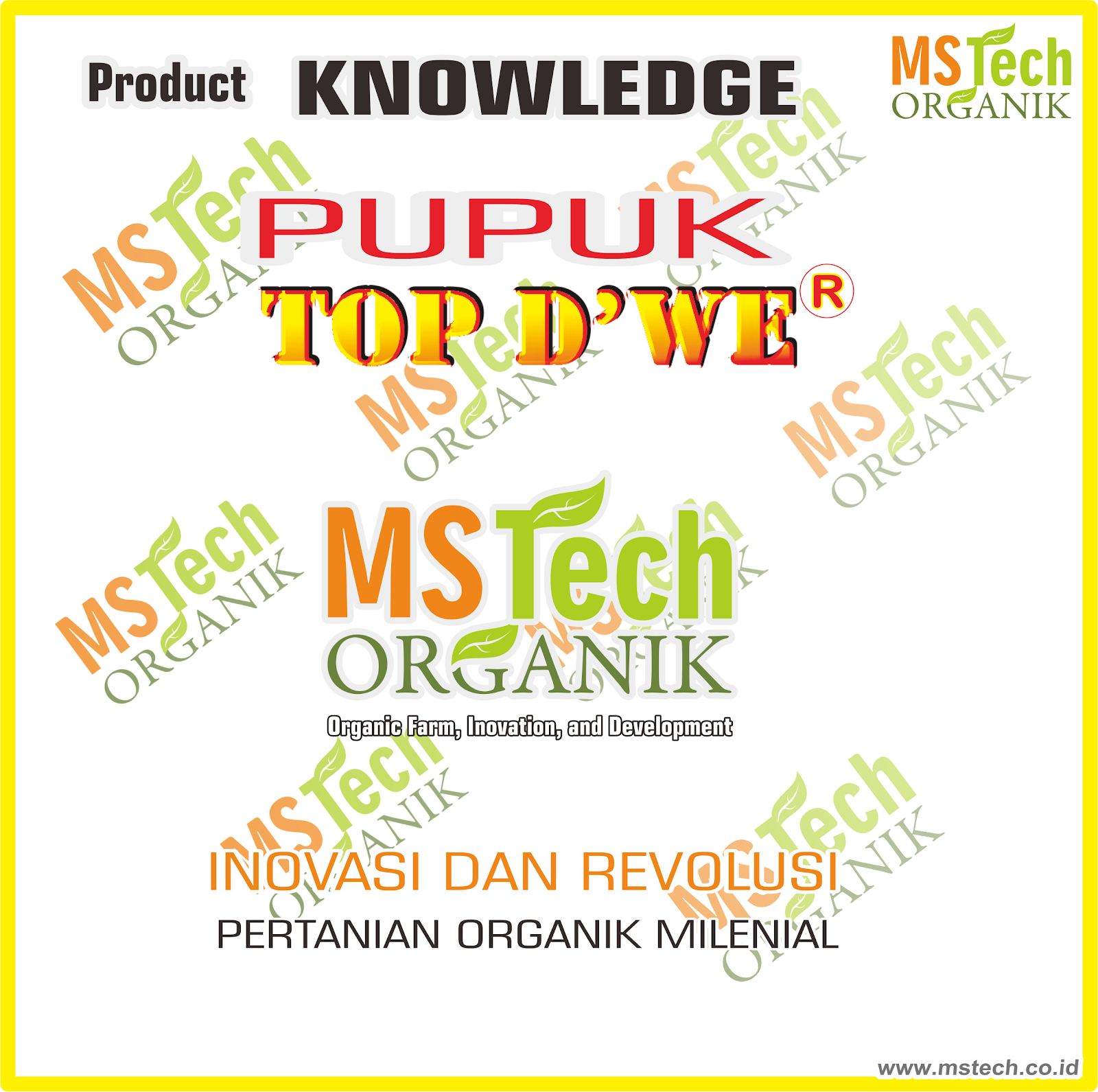 Product Knowledge TOP DWE