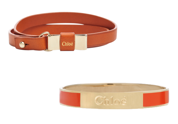 Bracelets/Bracciali in pelle Chloè
