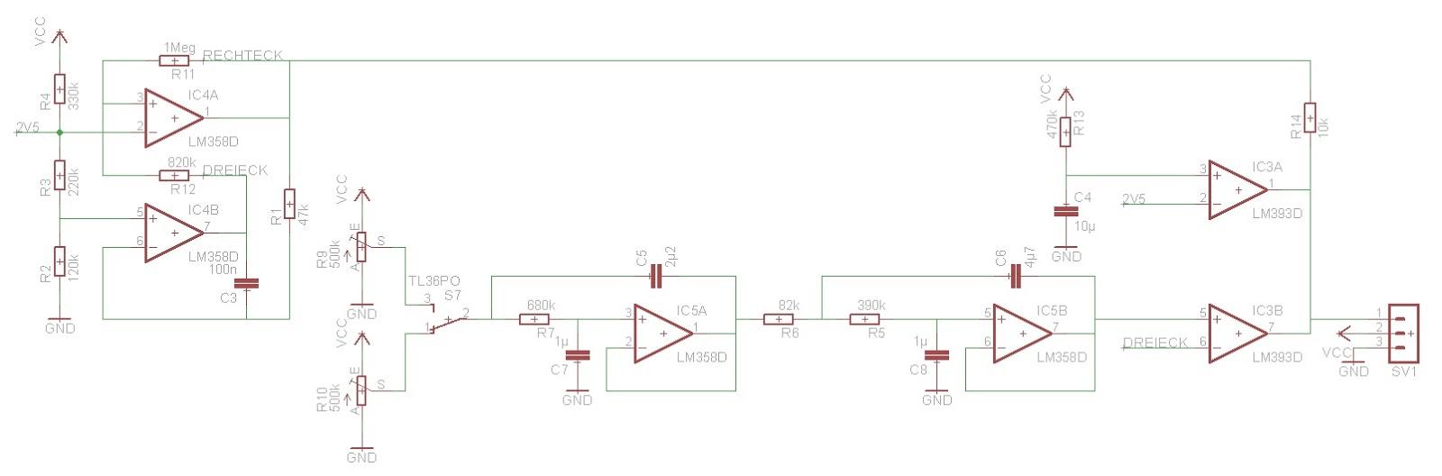 Modellbahn-Technik-Blog: Analoge Servosteuerung