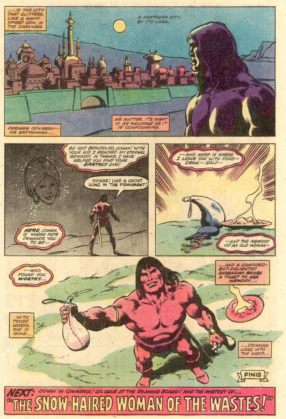 Conan the Barbarian (1970) Issue #126 #138 - English 23