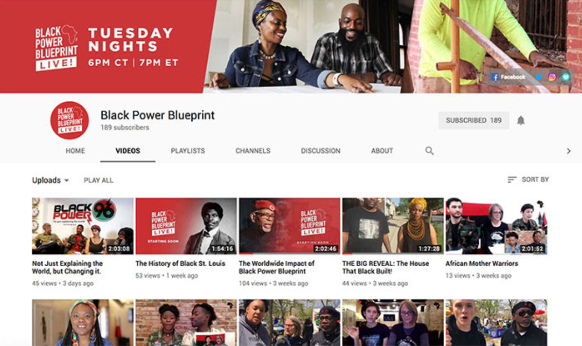 Black Power Blueprint LIVE!