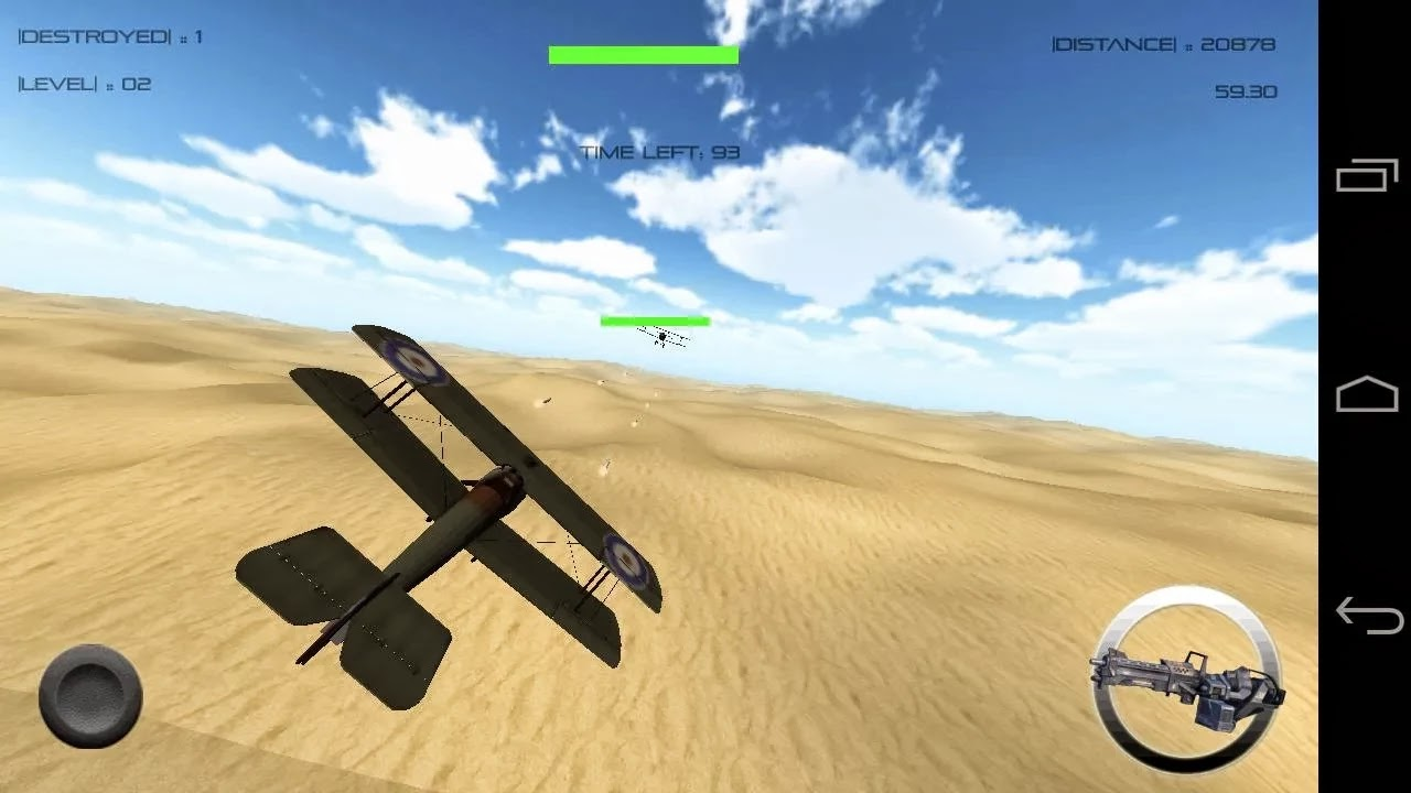 3d jets gratis para android