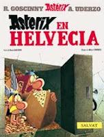 Astérix en Helvecia,Albert Uderzo, René Goscinny,Salvat  tienda de comics en México distrito federal, venta de comics en México df