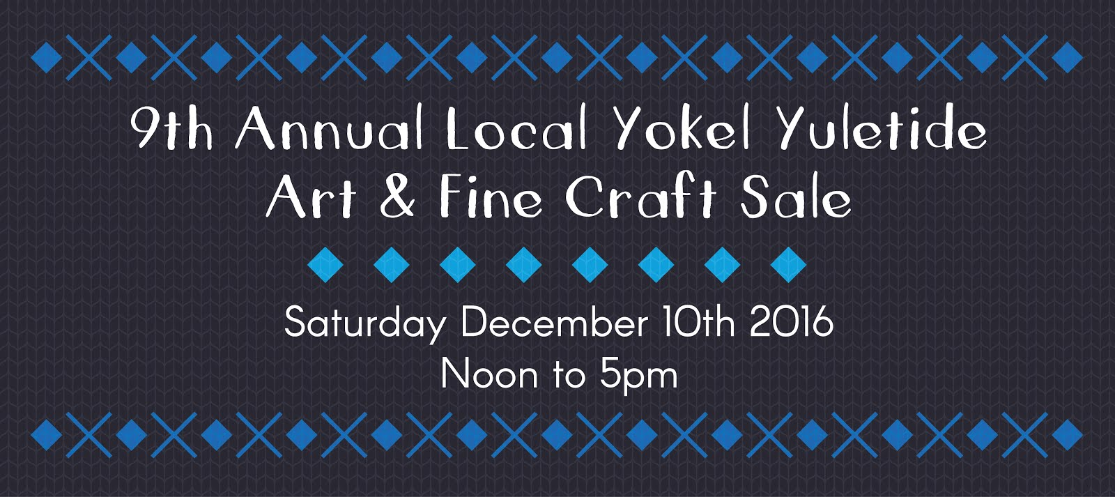 Local Yokel Yuletide Art & Craft Sale
