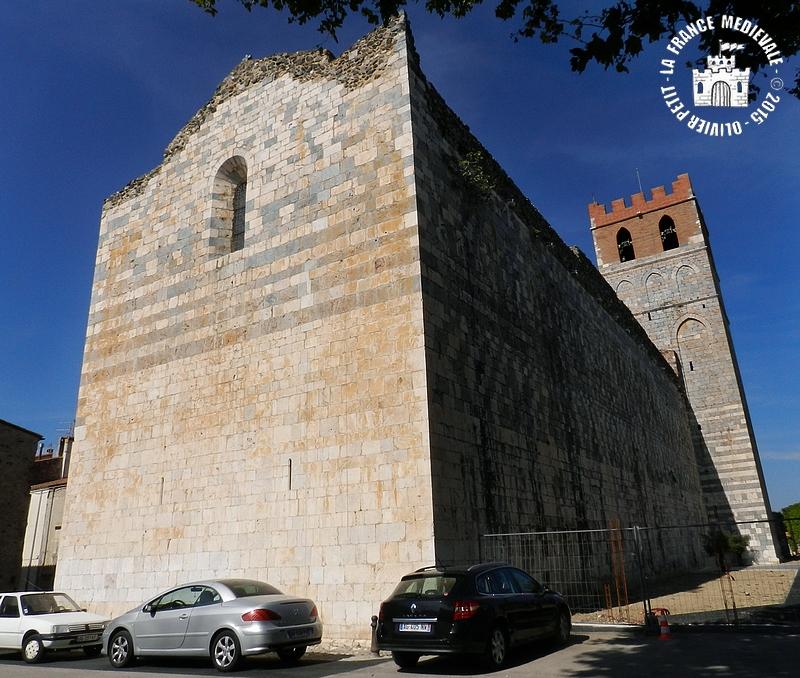 La france medievale espira de l 39 agly 66 eglise romane for Eglise romane exterieur
