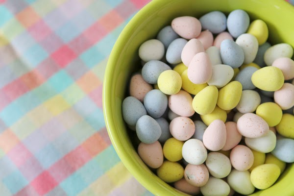 candy, eggs, pastels, Easter, Spring